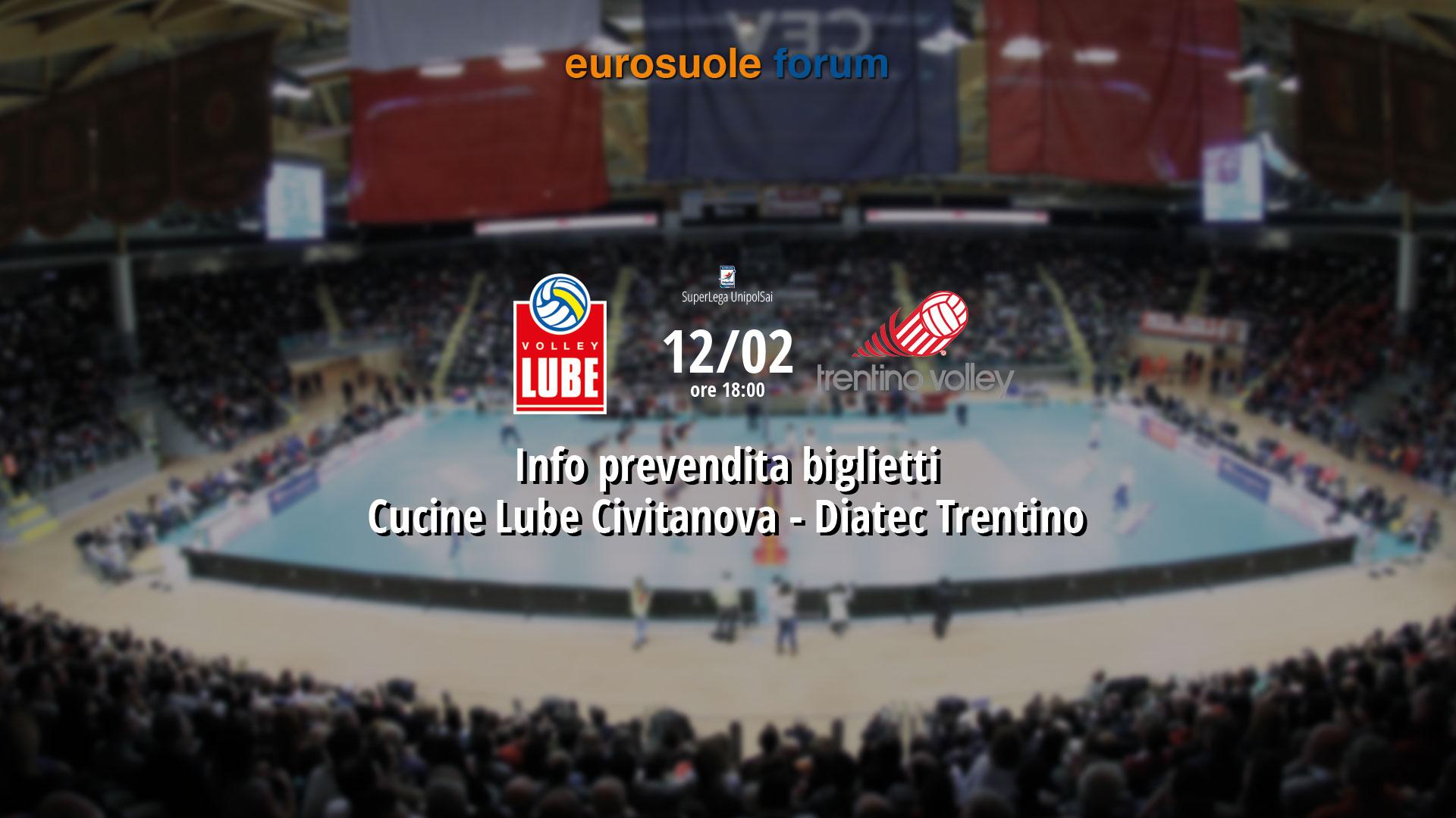 Info prevendita biglietti cucine lube civitanova diatec trentino lube volley official web site - Cucine lube civitanova ...